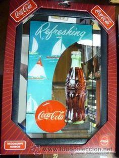 Espejo de coleccion de coca cola