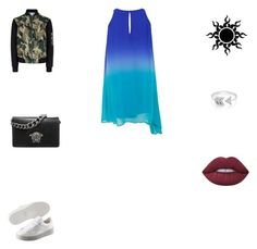 """Mate-os com bondade"" by smelyssa078 on Polyvore featuring New Look, Puma, Versace, EF Collection and Lime Crime"