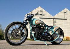 French Harley Davidson Bobber Motorcycle