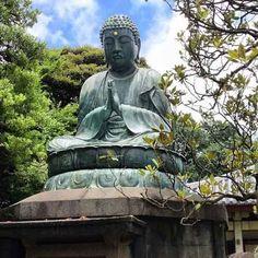Bronze Buddha at Tennoji Temple ~ Yonaka, Tokyo