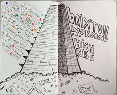 For everyone who managed to navigate their way to the Barbican, we had an interesting discussion about the pros and cons of living in the High Rise, mass insanity and how rubbish chutes never. Barbican, Brixton, Brutalist, Towers, Doodles, Group, Books, Libros, Tours