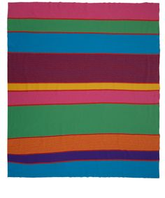 Multicolour Spectrum Kelly Wool Throw | Home | Liberty.co.uk