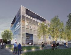 """LA's Natural History Museum to Expand With Transparent """"Front Porch"""" Additions"""