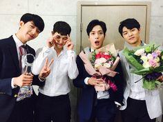 Congrats on your Blueming album, oppas. Cnblue, Minhyuk, Jonghyun, Music, Instagram Posts, Artist, Cute, Kpop, Twitter Update