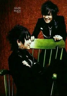 The Gazette Ruki and Kai <3