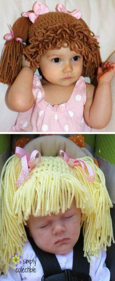 Crochet Cabbage Patch Hats Pattern Crochet Pinterest Cabbage