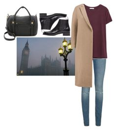 """""""Без названия #1221"""" by asmin ❤ liked on Polyvore featuring Yves Saint Laurent, Zara, Brunello Cucinelli, Le Yucca's, AANDD, women's clothing, women, female, woman and misses"""