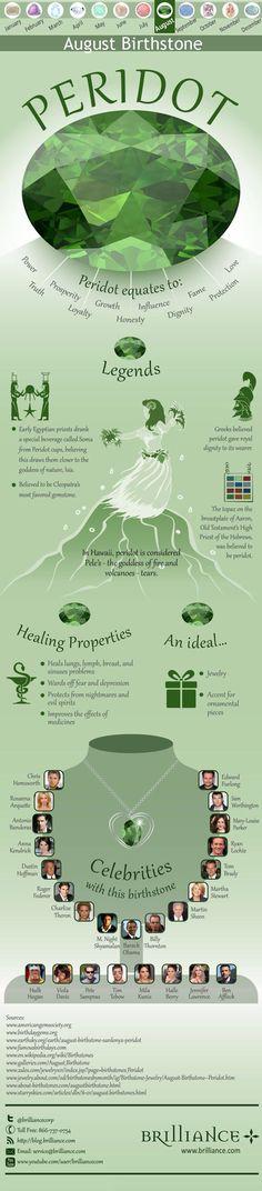 The properties of peridot.