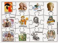 ΒΙ15 School Organization, Ancient Greece, Greek Mythology, Special Education, Alphabet, Comics, Crafts, Art, Activities