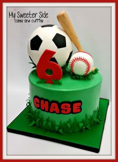 Sports  - Cake by Pam from My Sweeter Side
