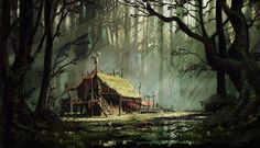Image result for fantasy frontier art environments
