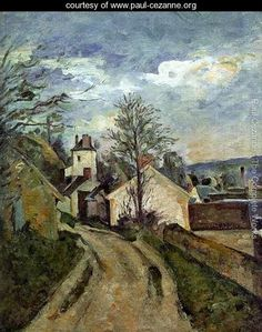 Paul Cezanne Most Famous Works | The House Of Dr Gached In Auvers - Paul Cezanne - www.paul-cezanne.org