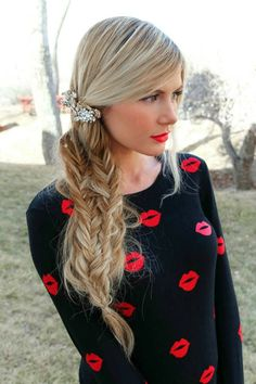 Amazing hair extensions can be dyed to match your natural hair colour. #chic