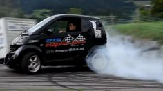Smart car with some grunt. well as much grunt as a smart car could have. - Smart Car with Hayabusa Turbo Engine!