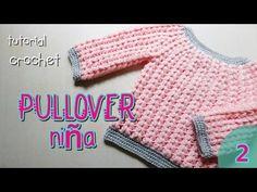 Como tejer a crochet pulover, saco (2/2) - YouTube