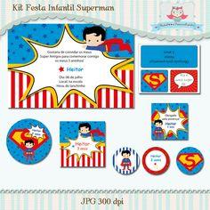 Kit Festa Infantil Super Homem