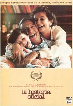 The Official Story / Resmi Tarih / La historia oficial Cinema Posters, Movie Posters, Crime, Bon Film, Free Tv Shows, Internet Movies, Original Movie, Movie Photo, Rare Images