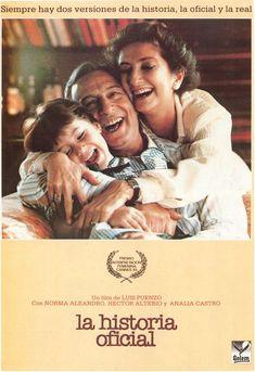 LA HISTORIA OFICIAL (1985, Argentina).