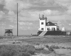 Brazos Santiago Lighthouse in 1943