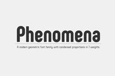 Phenomena : Free Modern Sans Serif Font #freebiesjedi