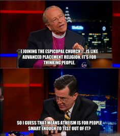 Oh, Colbert. You win.