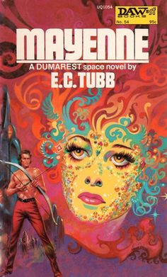 FRANK KELLY FREAS - art for Mayenne (Dumarest of Terra #9)  by E.C. Tubb - 1973 DAW Books
