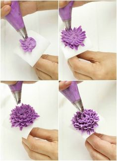 Azlita Aziz - TUTORIAL KOREAN FLOWER BUTTERCREAM
