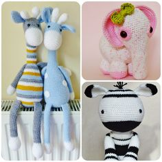Crochet Amigurumi PATTERN Pack Special Offer by KornflakeStew, £5.40