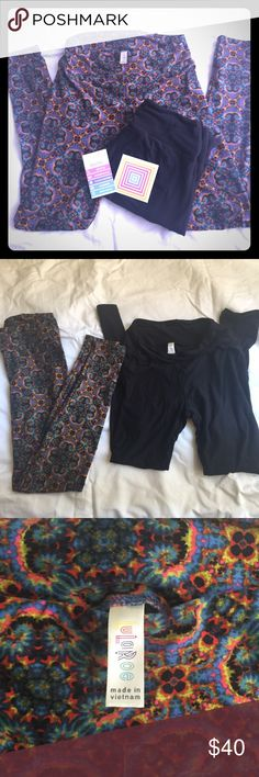 """🎀 LuLaRoe Leggings 🎀 🎉 MUST GO SALE!! Donating closet**🎀 NWT LuLaRoe Leggings 🎀One SizeMade in VietnamEXCELLENT CONDITION! multicolor leggings are comfortable and truly versatile!  ⭐️⭐️⭐️⭐️⭐️ Top Rated Seller, Top 10% Seller 📦⚡️Fast Shipping (same/next day) Smoke-Free, Pet-Free 🏡 🛍 Bundle for discounts Sorry ⛔️ tradesies, every 💵 counts right now ↬ Reasonable offers welcome via """"Offer"""" button LuLaRoe Pants Leggings"""
