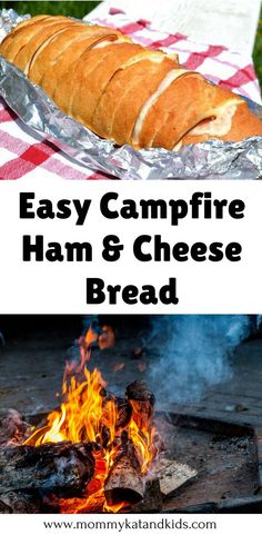 Just because you're camping, doesn't mean you have to eat hot dogs and hamburgers. Check out this delicious campfire recipe that will leave you wondering why you've never made it before. It will completely change your camping experience! Make sure you hav