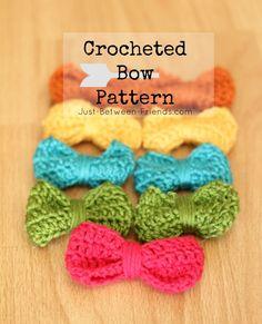 26 Beste Afbeeldingen Van Gehaakte Strikjes Crochet Bow Ties