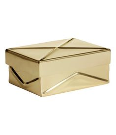 H&M Metal box with a lid £9.99