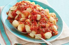 Perfect PHILLY Gnocchi with Fresh Tomato Sauce