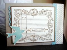 Notably Ornate Elegant Soiree by Gwendolen jvp - Cards and Paper Crafts at Splitcoaststampers