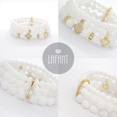 Bracelets by Lafant sklep online: www.lafant.pl jewlery | biżuteria | dodatki | fashion | jewlery | wedding | ślub | dodatki ślubne| blogger | polishbrand | lafant Jewlery, Beaded Bracelets, Wedding, Fashion, Valentines Day Weddings, Moda, Jewerly, Fashion Styles, Schmuck
