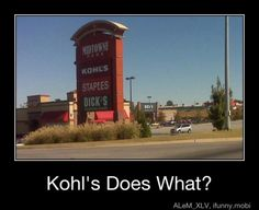 Kohls Staples Dicks