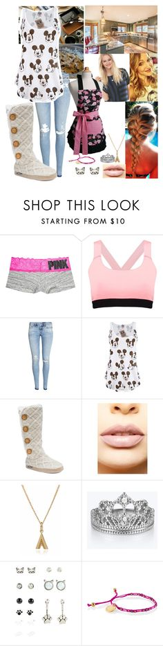 """""""Baking chocolate chip cookies"""" by spidey31 on Polyvore featuring Victoria's Secret, Boohoo, H&M, Junk Food Clothing, Muk Luks, LASplash and Rachel Jackson"""