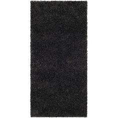 Found it at Wayfair - Milan Shag Dark Grey Rug