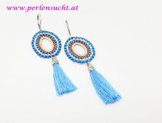Ohrringe von Vi-Roh by www.perlensucht.at Tassel Necklace, Tassels, Drop Earrings, Jewelry, Earrings, Jewels, Schmuck, Tassel, Drop Earring