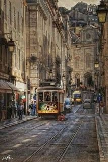 """""""Lisboa I (Serie)"""" by Manuel Lancha on ~ Lisbon, Portugal Places Around The World, Travel Around The World, Around The Worlds, Places To Travel, Places To See, Wonderful Places, Beautiful Places, S Bahn, Voyage Europe"""
