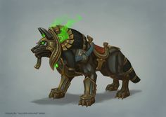 Heroes' Arena Mount Wolf by e-danilov on deviantART