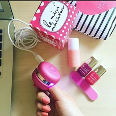 Spring is here with bold colors diy gel nails anytime anywhere spring is here with bold colors diy gel nails anytime anywhere with le mini macaron spring nail details pinterest diy gel nails and spring nails solutioingenieria Image collections