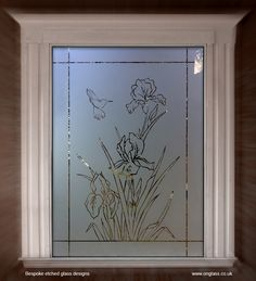 Bespoke etched glass designs