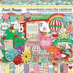 Somewhere Over The Rainbow by Zoe Pearn, Julie Billingsley & Jady Day Studio - Used