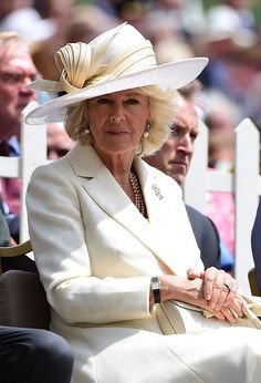 The Prince Of Wales And Duchess Of Cornwall Attend The Opening Ceremony Of Hougoumont Farm on June 16, 2015 in Waterloo, Belgium