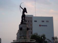 La Diana Cazadora.  Mexico City.