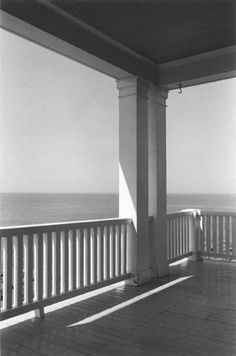 George Tice - Porch, Monhegan Island, Maine - 1971