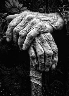 hands of a thousand stories! Beautiful