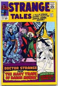 dr. strange covers   The original cover is known for its yellow, so that was the natural ...