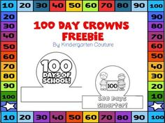 Happy 100 Days Of School!Other February products you may want to check out are:Groundhog Make 20 BookletGroundhog Prediction Graph for Whole Class graphing -FreeTooth Fairy -Add The Room (Sums To 10)